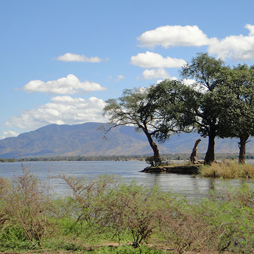 Zambezi River at Mana Pools